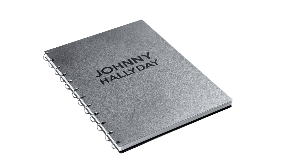 livre photo johnny hallyday ferme